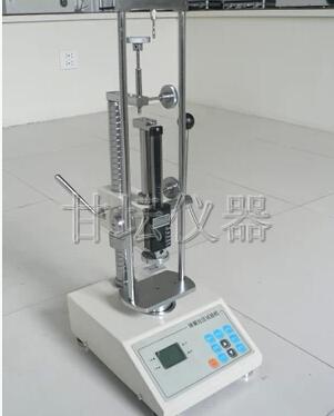 50N弹簧拉压试验机_小量程弹力负荷测试机