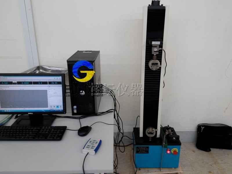 落地式电子拉力试验机_ FSV-100数显拉压工作台