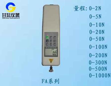 图显推拉力计,FA-R1-2N曲线推力计_小型数显拉力仪