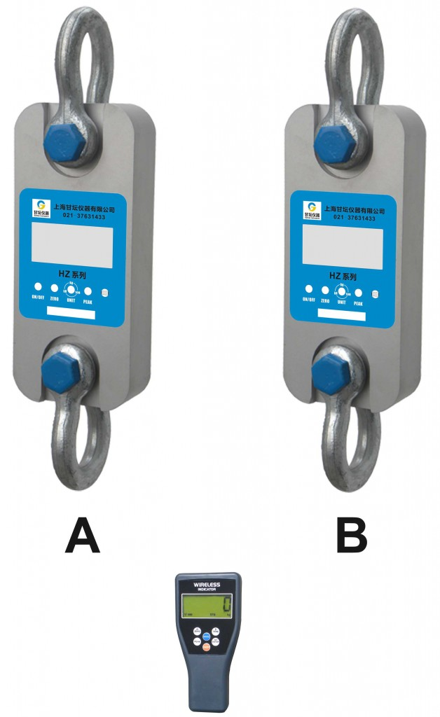 Dynamometer测力计0.5-200t专业供应.双数显测力计
