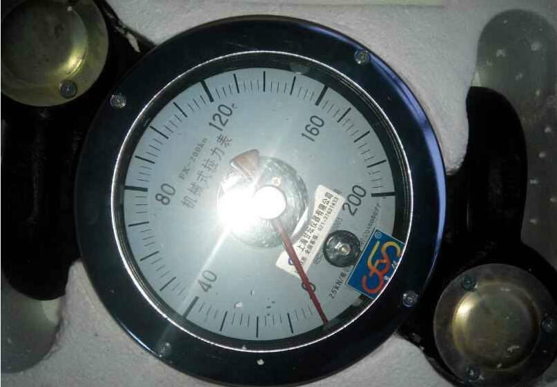 电缆用0~80KN拉力计.8T机械式指针测力仪表