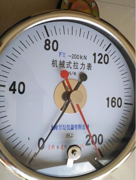 修井机用机械拉力计10-500KN供应.现货