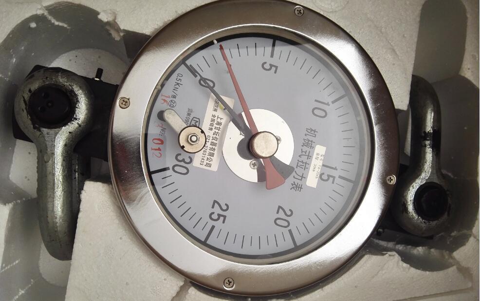 机械式拉力表30-160kn 无须充电 油田专用