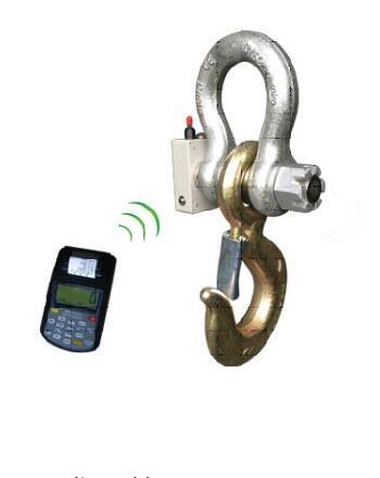 高强度标准电子拉力仪器5-50T供应.卸扣吊环式测力计