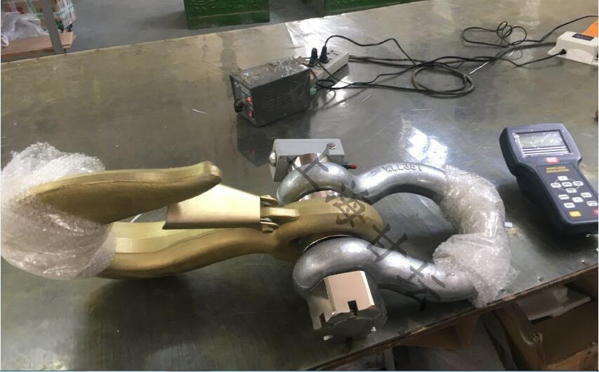 无线蓝牙拉力计10吨-卸扣式测力仪器(电脑.手机对点连接)